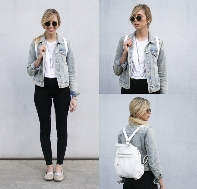 Sound of beauty style - styling tips jean jacket DONE