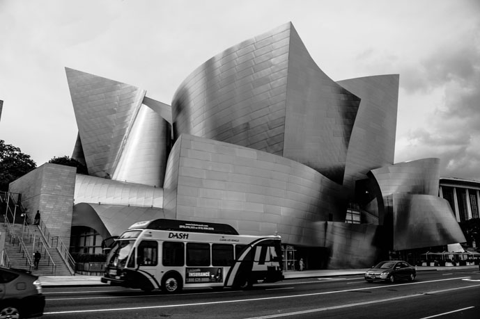 walt disney hall sound of beauty style