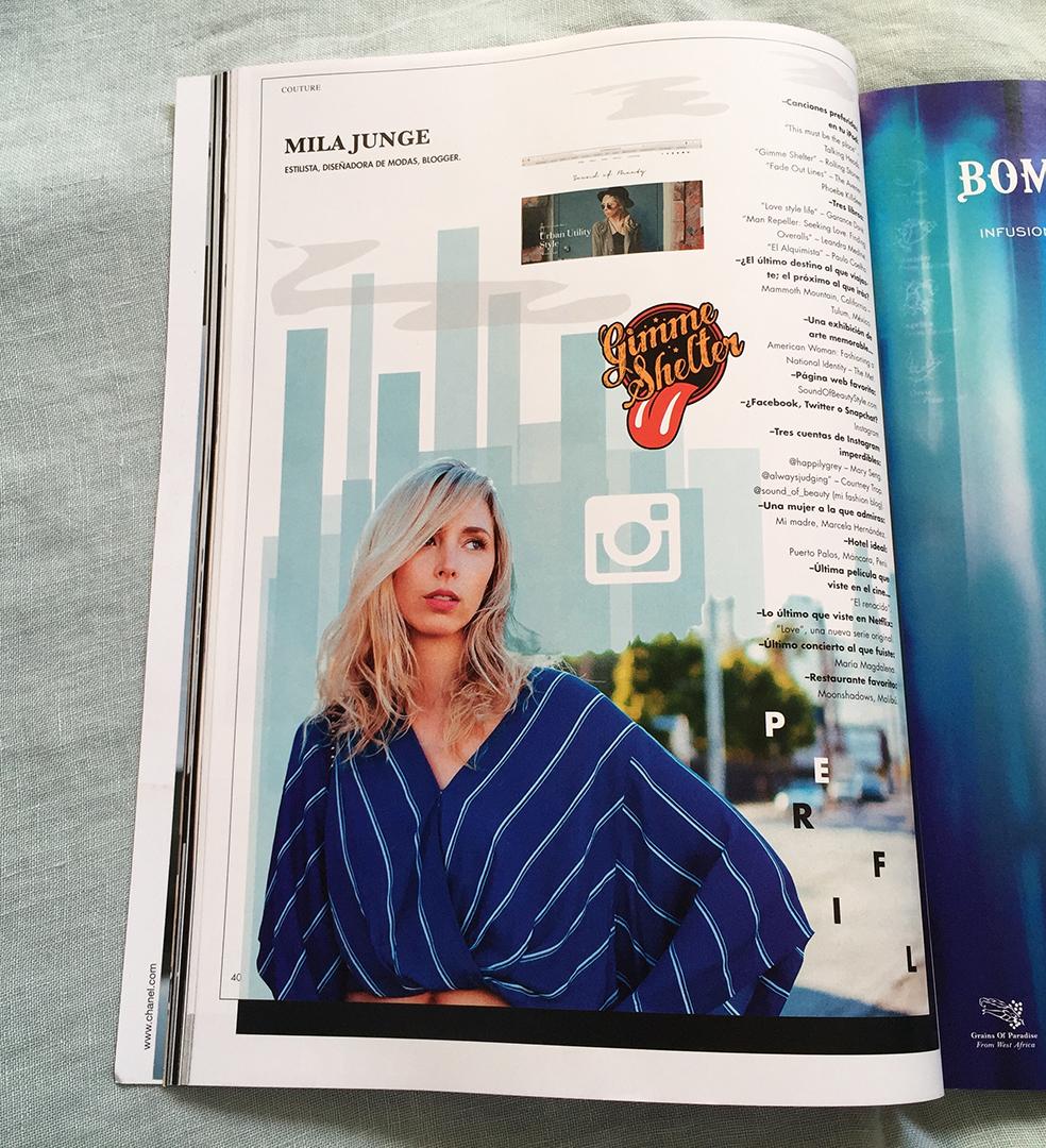 Revista Cosas couture